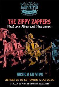 The Zippy Zappers @ Jack The Pepper | Grau i Platja | Comunidad Valenciana | España