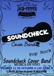 Soundcheck - Cover Band @ Jack The Pepper | Grau i Platja | Comunidad Valenciana | España