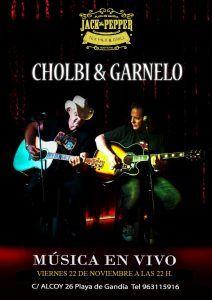 Cholbi & Garnelo @ Jack The Pepper | Grau i Platja | Comunidad Valenciana | España