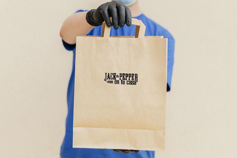 comida para llevar - take away - jack the pepper